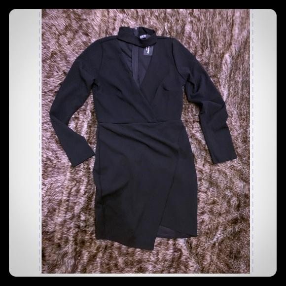 Fashion Nova Dresses & Skirts - Large Fashion Nova  black choker dress NWT